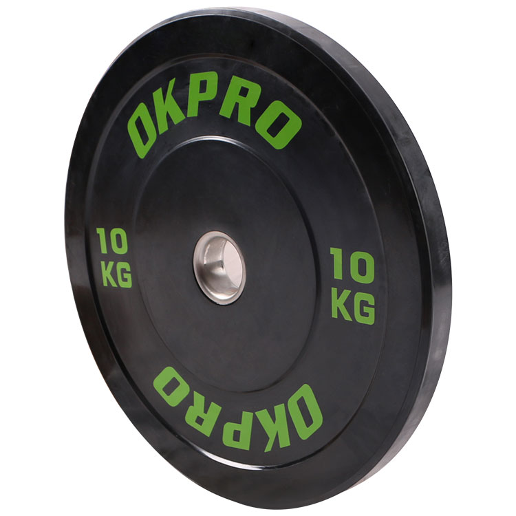 Gym Weight Plate Fitness Competition Rubber Bumper Plate